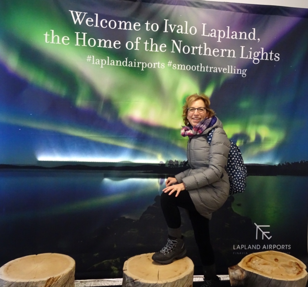 Northern Lights of Finland Tour: Collette Travel; Ivalo airport; Lapland