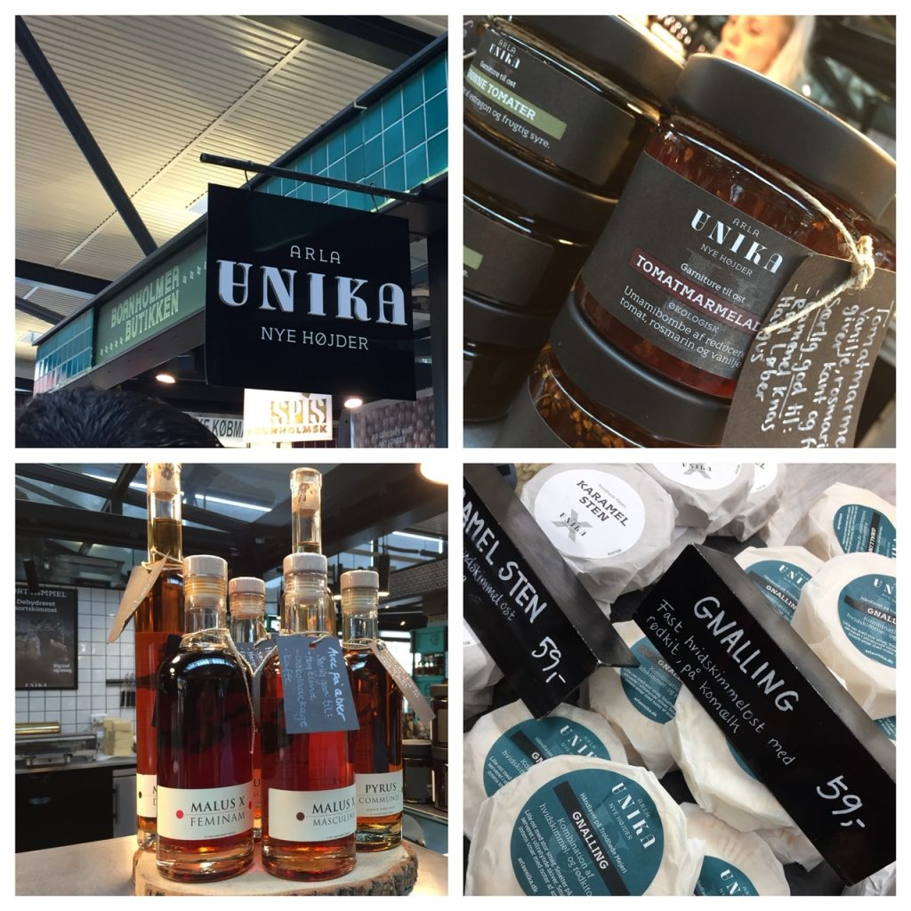 Unika foods; Copenhagen Food Lovers Tour; Viking Homelands tour