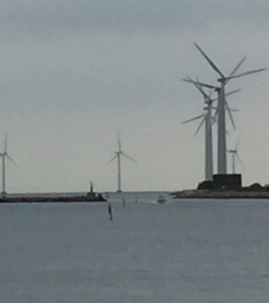 Windmills in Copenhagen