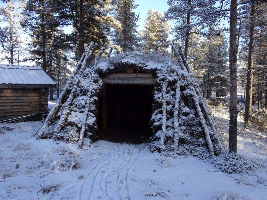 Reindeer huts; Lapland