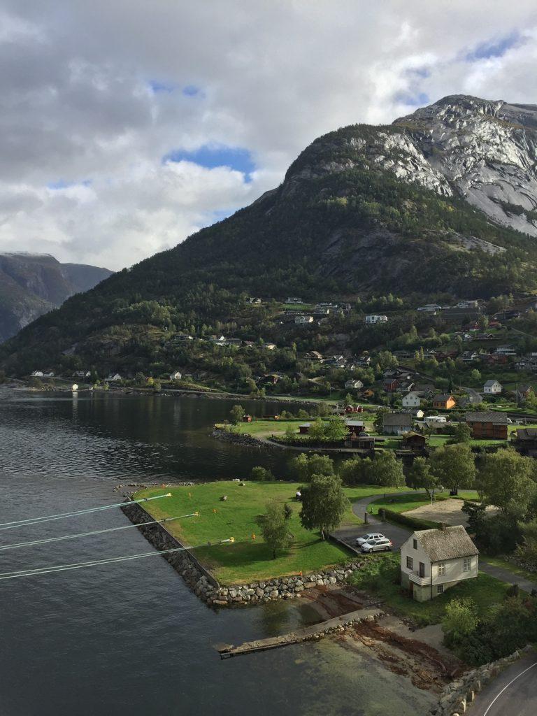 village of Eidfjord; Eidfjord, Norway