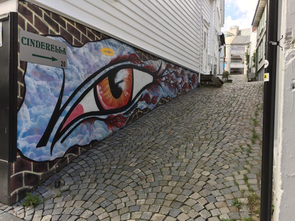 Stavanger artwork; Stavanger Old Town Murals