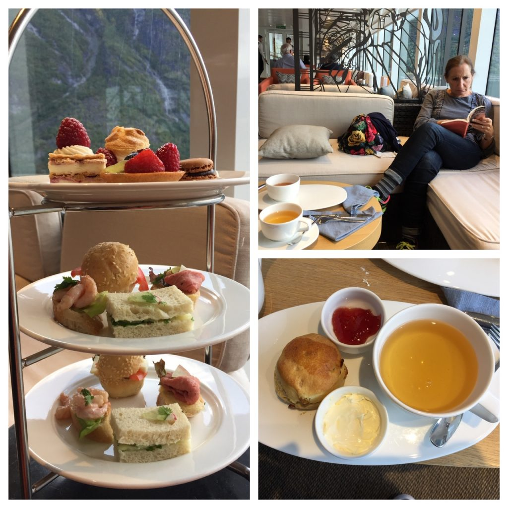 Afternoon teatime on Viking Star