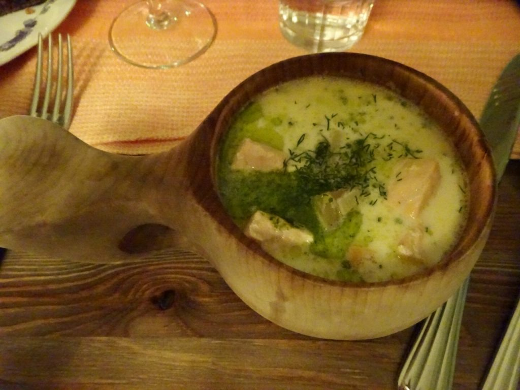 Finnish fish soup