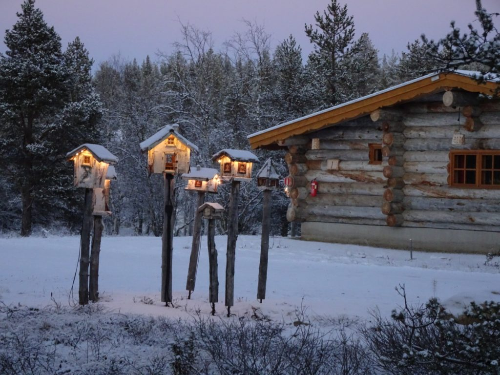 Lapland food huts