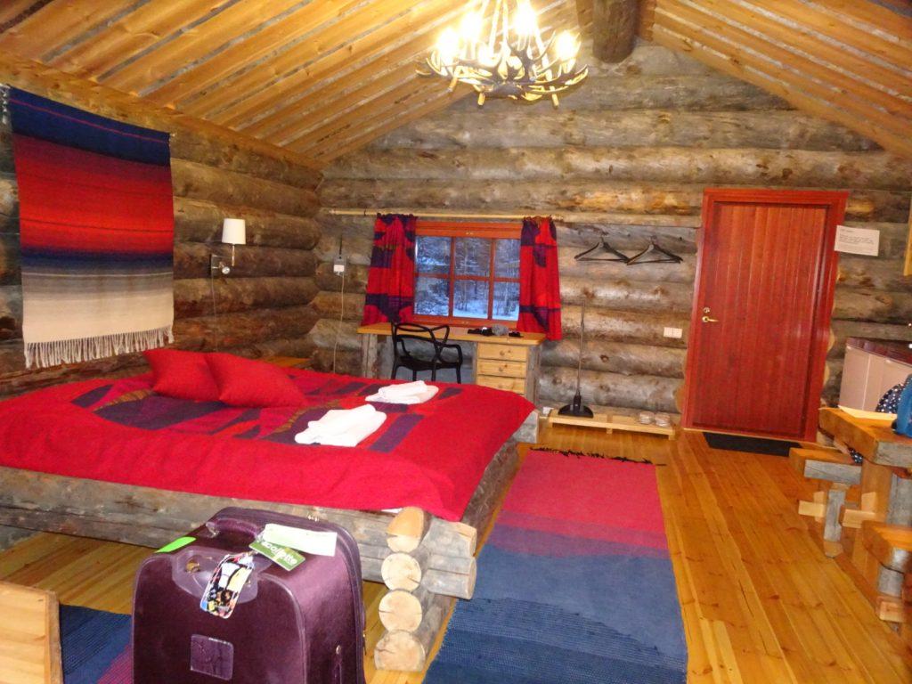 Kakslauttanen Arctic Resort cabin