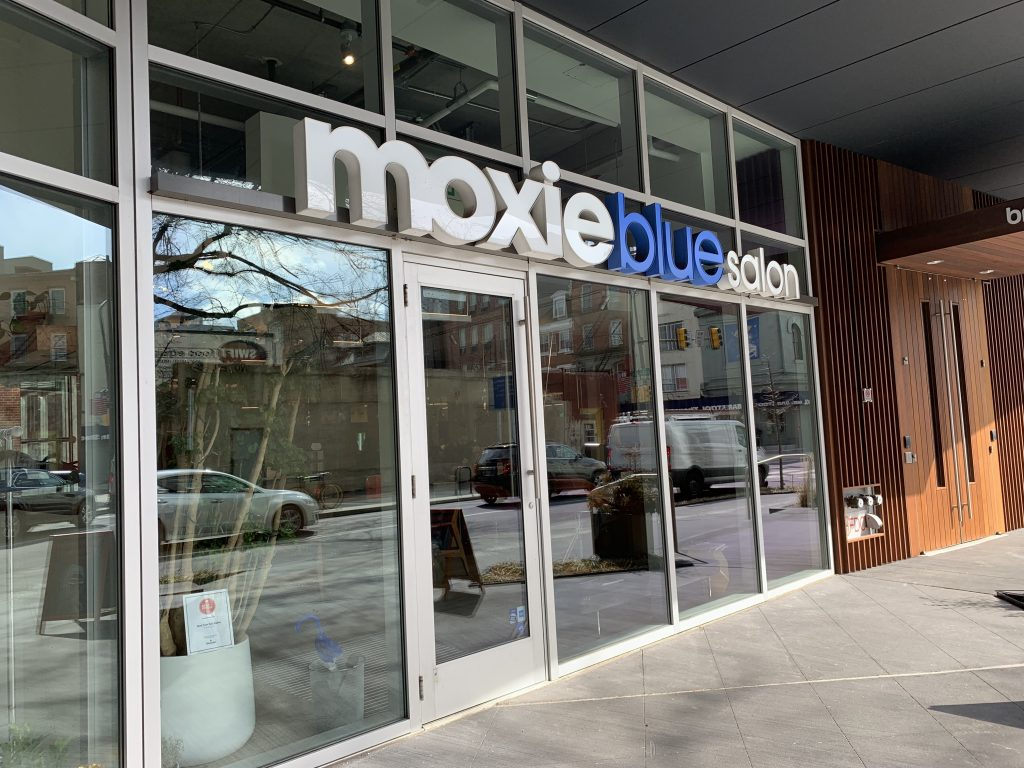 Moxie Blue Salon in Old City Philadelphia