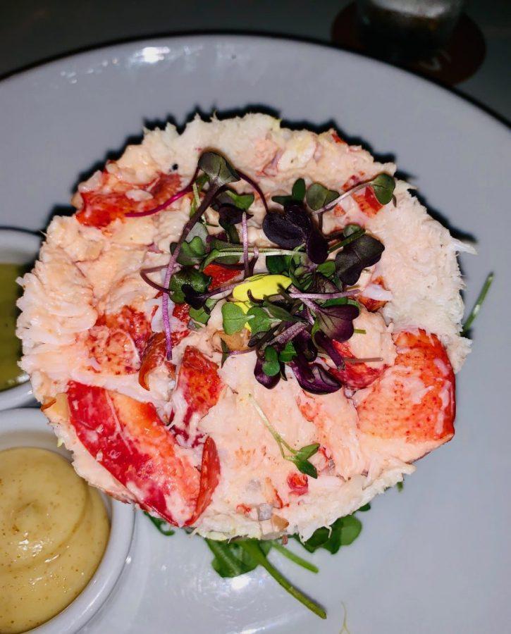 Shore restaurant crab lobster cobb salad