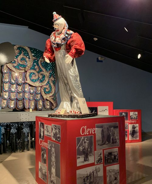 The Ringling Circus Museum clown costume
