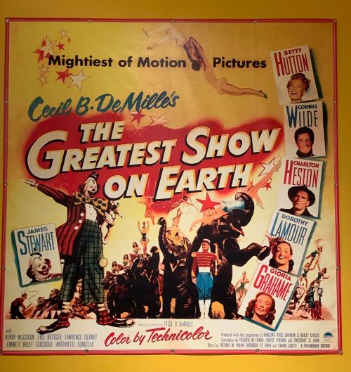 The Greatest Show on Earth original movie poster