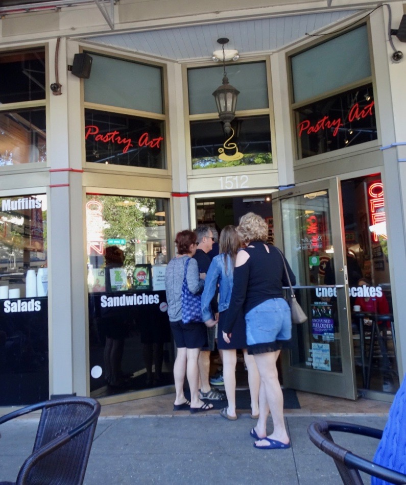 Pastry Arts Bakery Cafe in downtown Sarasota