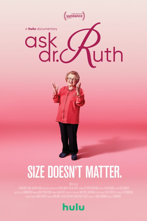 ASK DR. RUTH documentary poster
