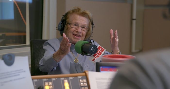 Dr. Ruth Westheimer in ASK DR. RUTH film