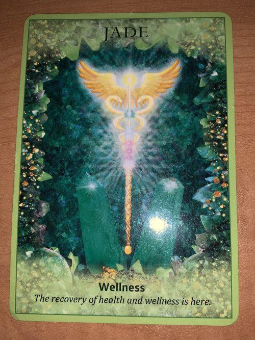 Wellness angel card
