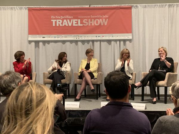 The New York Times Travel Show Industry panelists