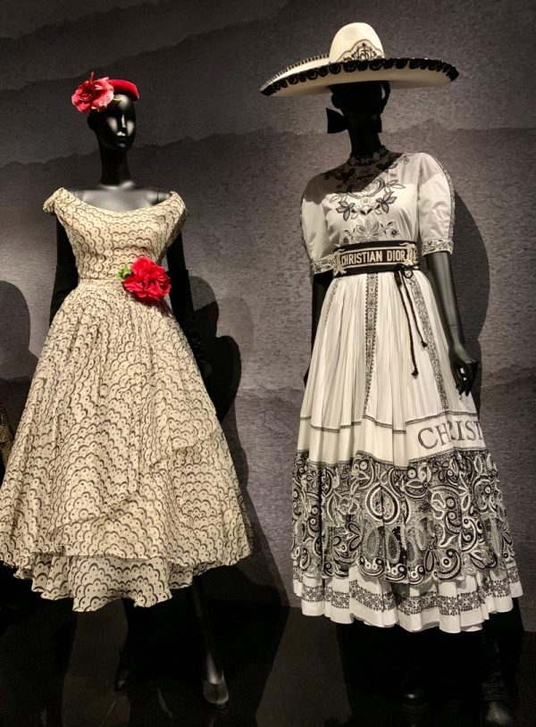 Dior Mexico inspired dresses
