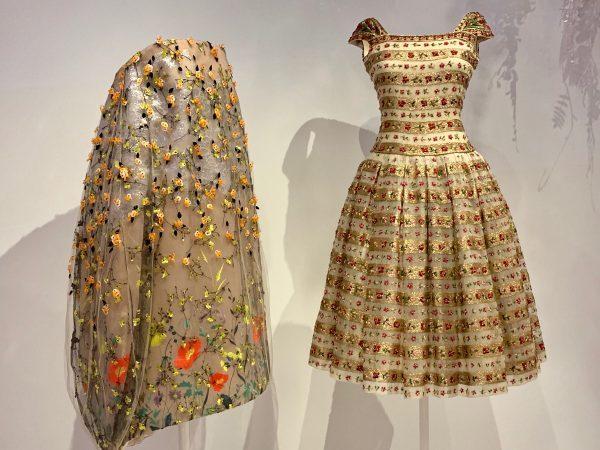 Dior garden dresses