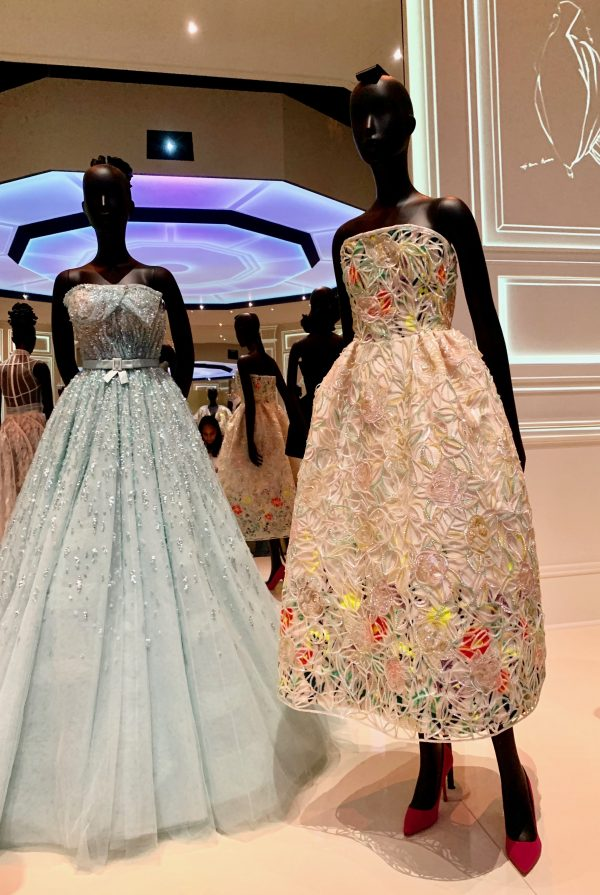 Dior celebrity dresses