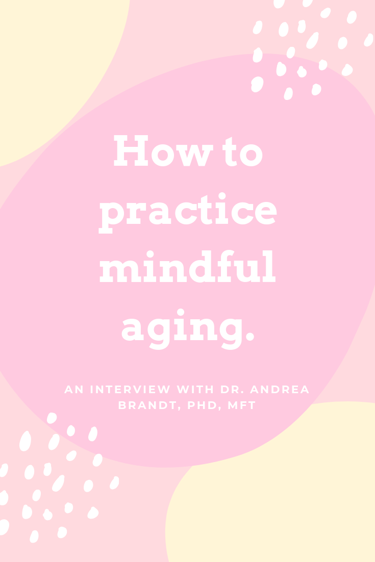 Pinterest graphic mindful aging