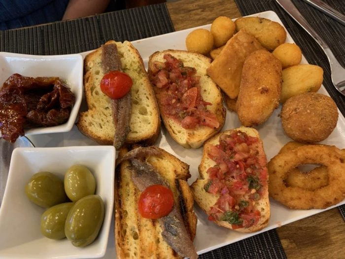 Sicilian Antipasti