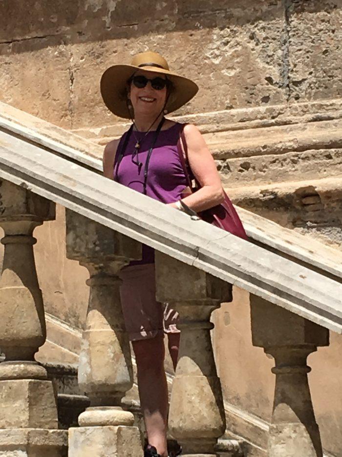 Judy in Sicily