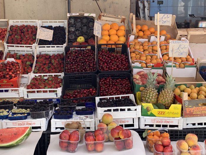 Il Capo market fruits