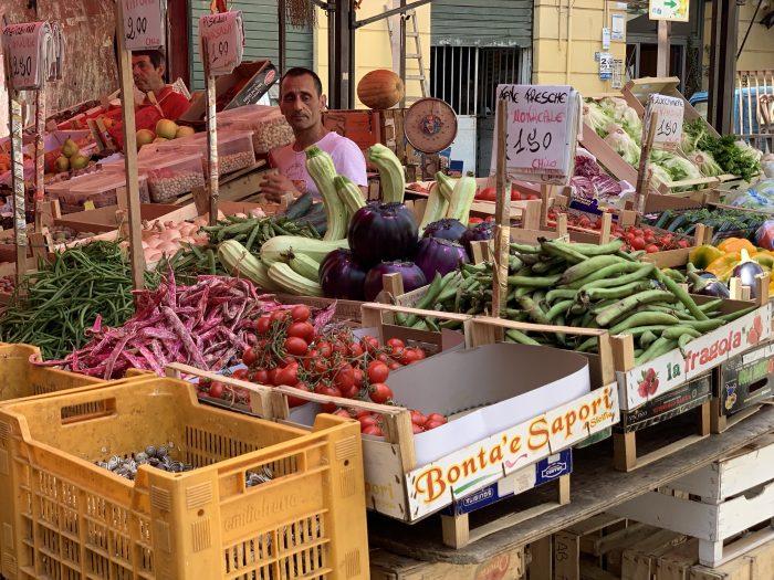 Il Capo market in Palermo