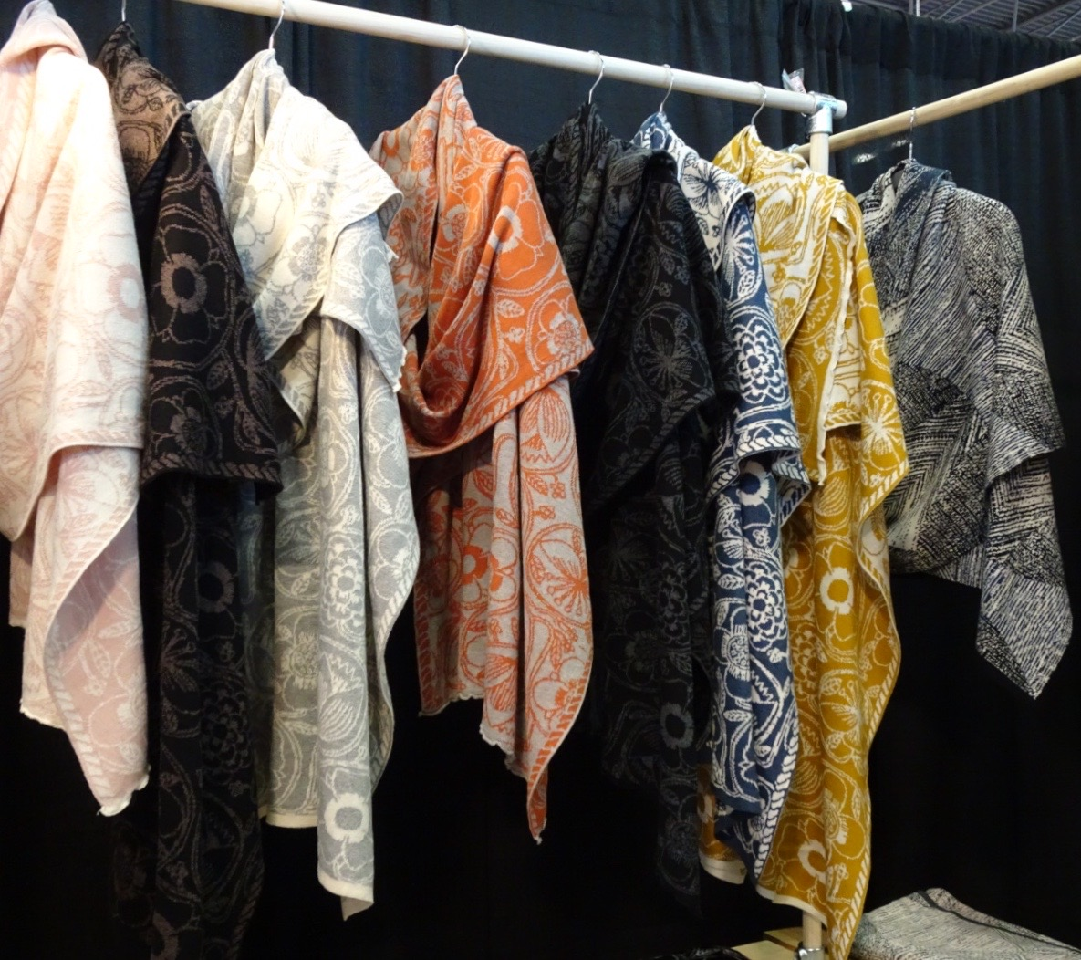 lia molly shawls
