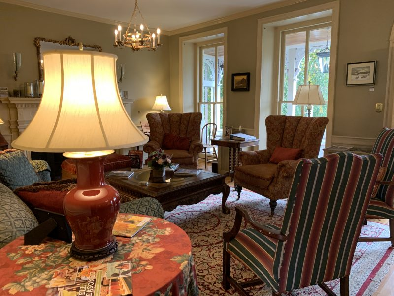 Woolverton Inn Living Room
