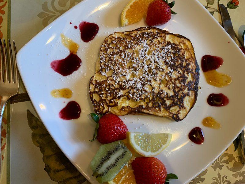 Lemon Ricotta Hotcakes