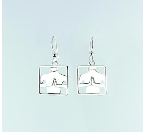 far fetched namaste earrings