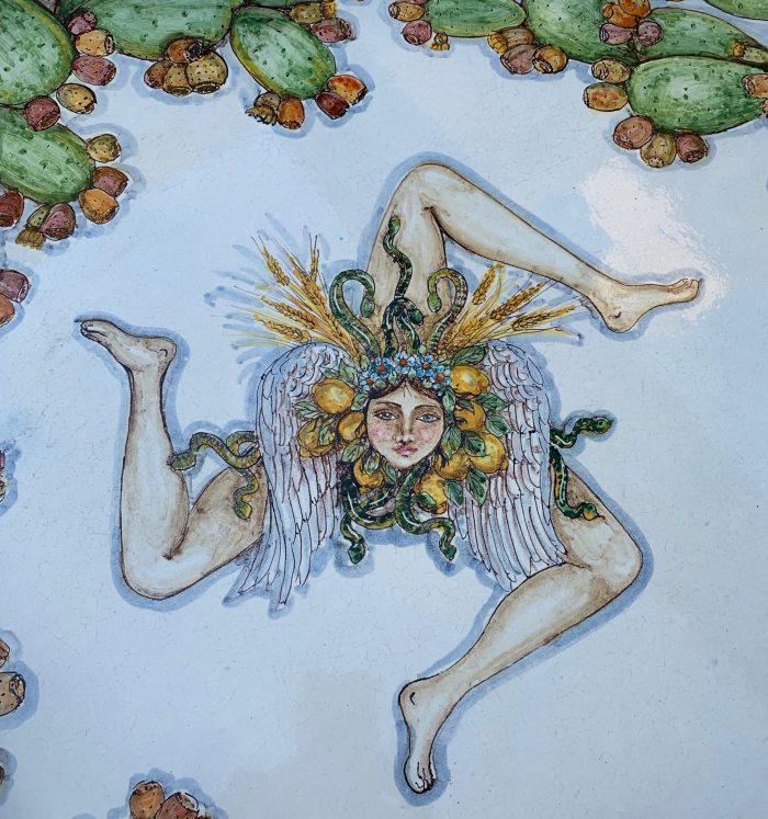 Trinacria symbol of Sicily