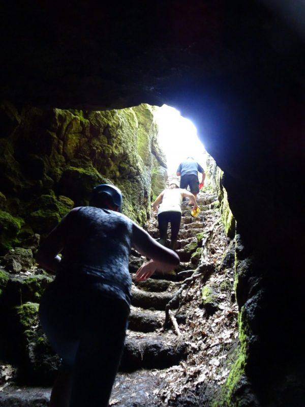Mt. Etna cave