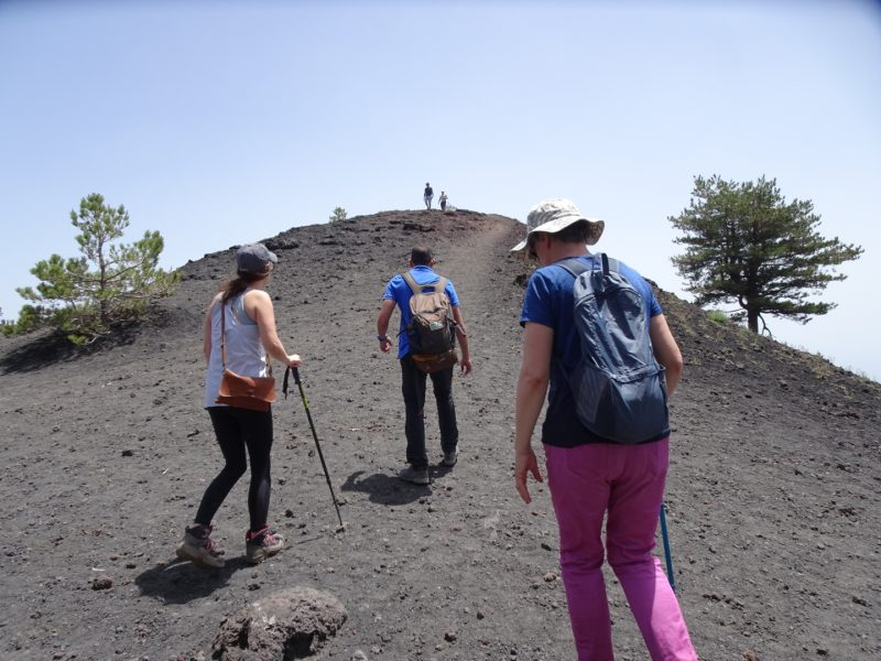Steep hills of Mt. Etna