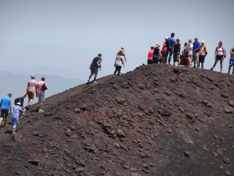 Climbing Mt. Etna