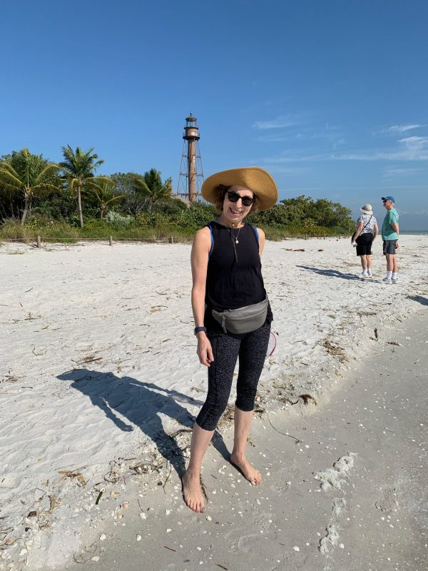 Judy in Sanibel Island