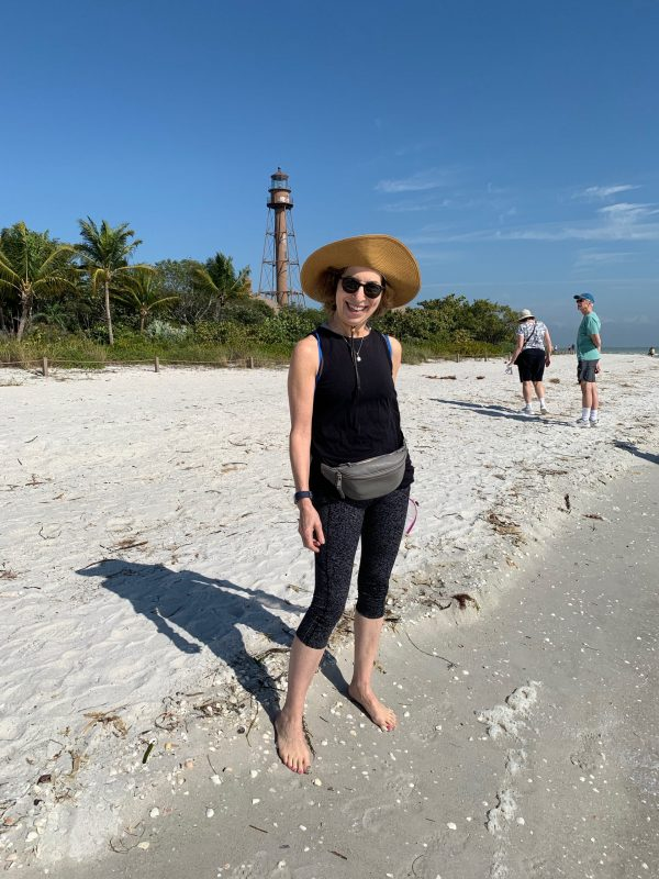 Judy on Sanibel Island