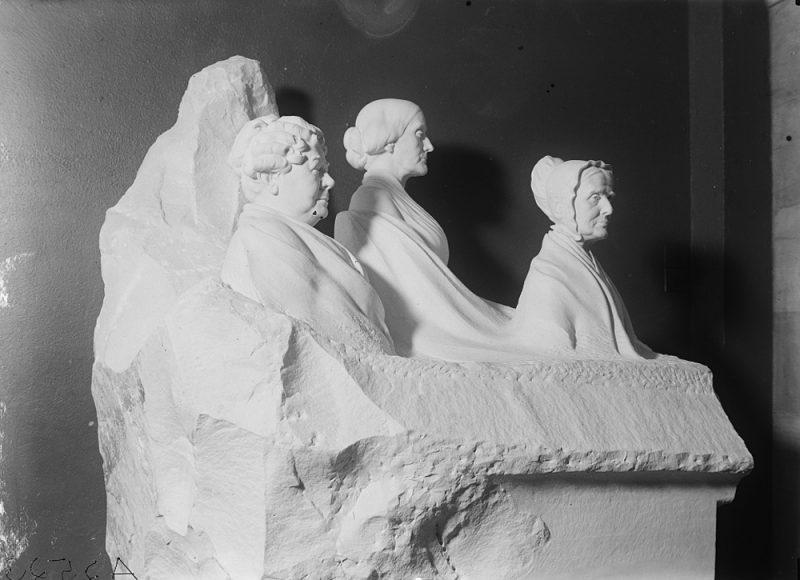 Portrait Monument to Lucretia Mott, ElizabethCadyStanton and Susan B. Anthony
