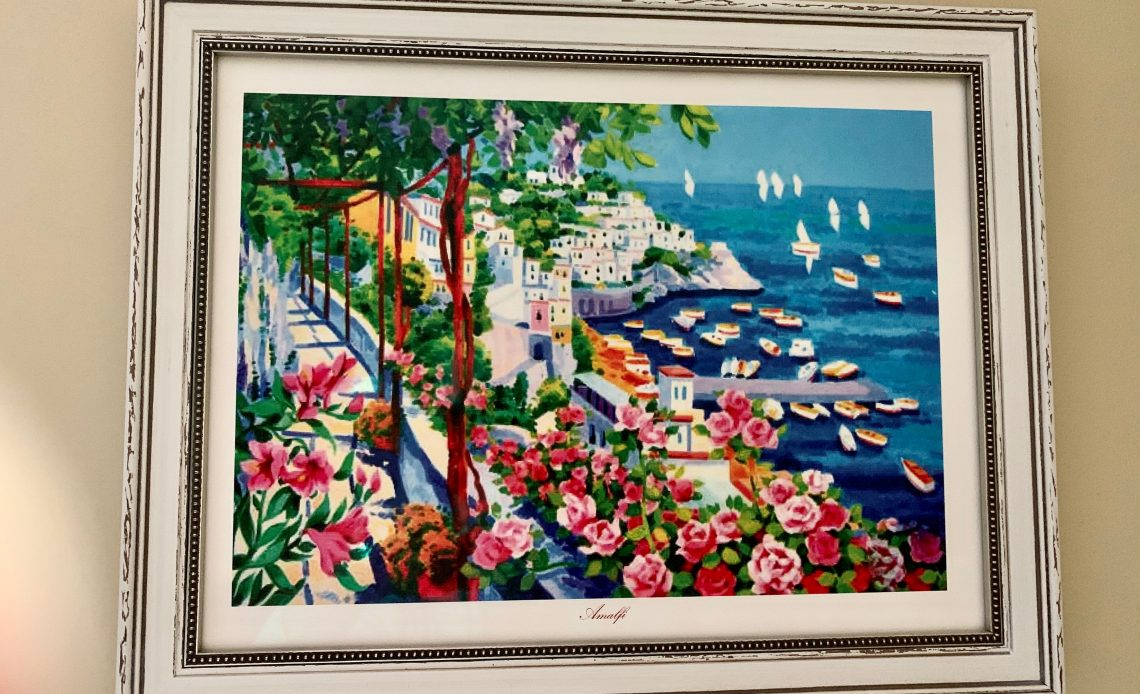 Print of Amalfi Coast