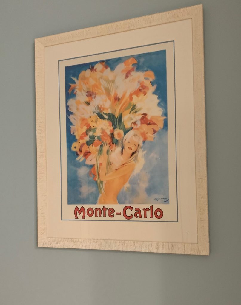 Monte Carlo print of Can Can dancer