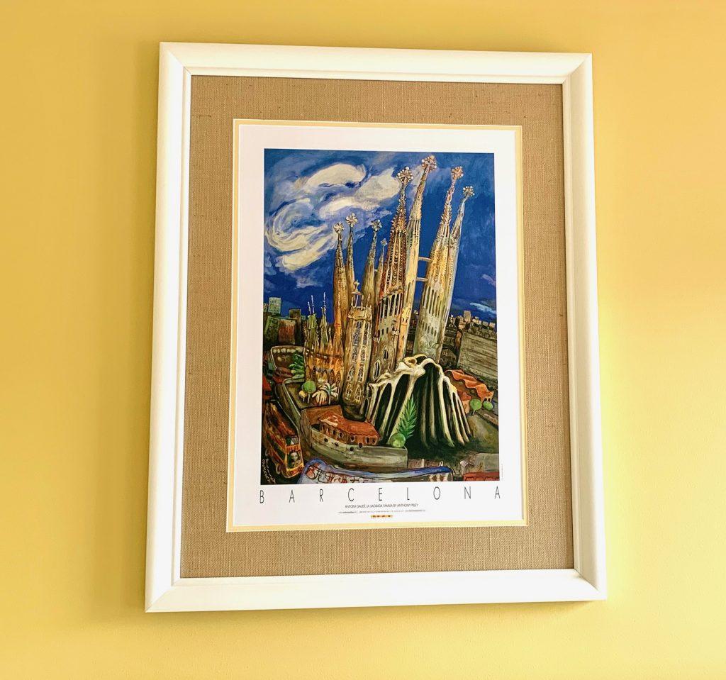 Basilica de la Sagrada Familia painting