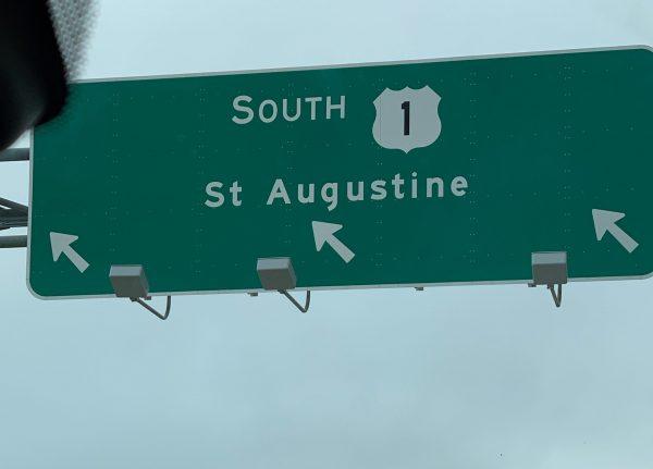 St. Augustine sign