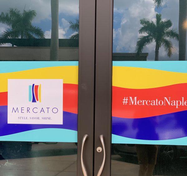 Mercato sign in Naples, FL