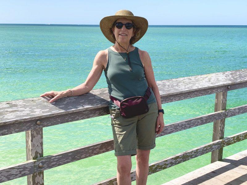 Judy on Naples Pier