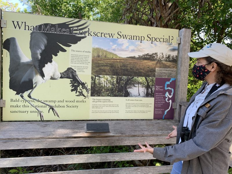 Renee at Audubon's Corkscrew Swamp Sanctuary