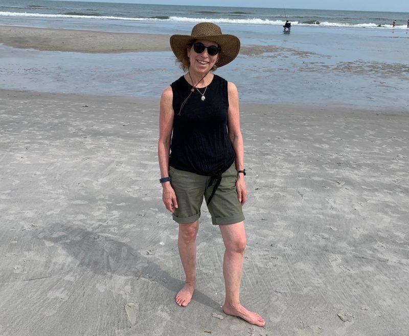 Judy at the Jersey Shore