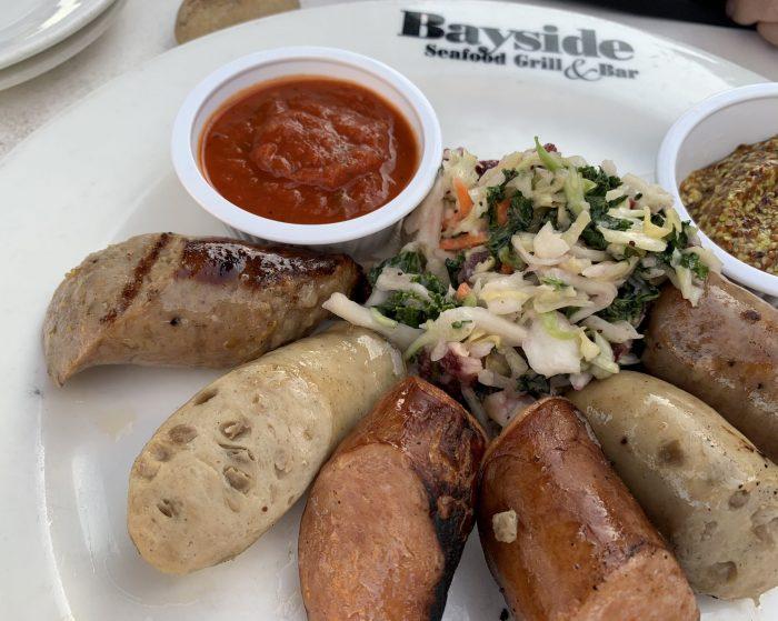 Bayside Seafood Grill Sausage Sampler