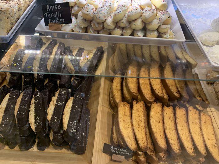 Biscotti at DeRomo's Gourmet Market in Bonita Springs Florida