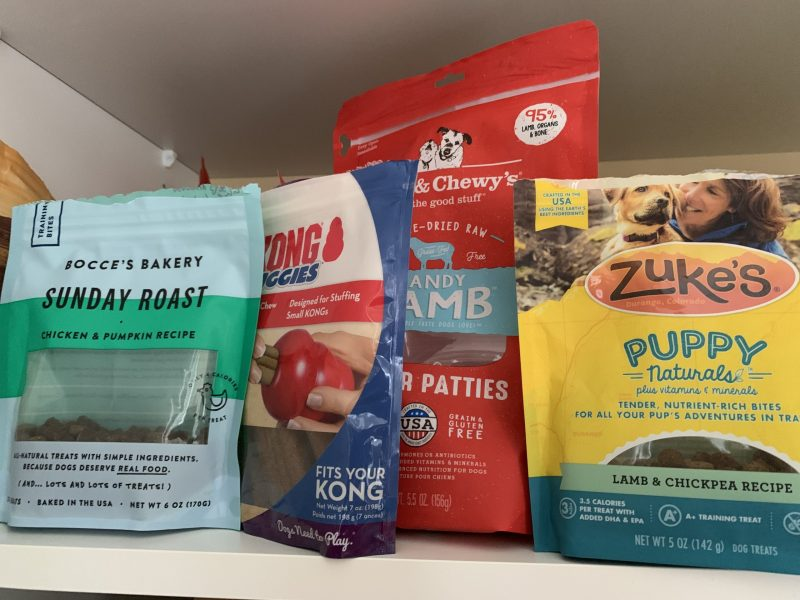 Dog and puppy food varieties